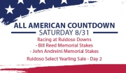 All American Countdown – Saturday 8/31