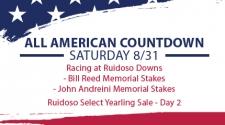 All American Countdown – Saturday 8/31