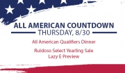 All American Countdown begins Thursday, August 29