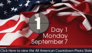 All American Weekend - Day 1 - Monday, Sept. 7