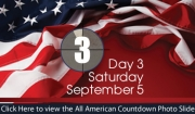 All American Weekend - Day 3 - Saturday, Sept. 5