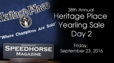 Heritage Place Yearling Sale - Friday, September 23