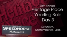 Heritage Place Yearling Sale - Saturday, September 24