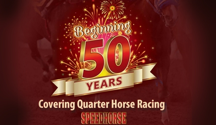 SPEEDHORSE ENTERS THE 50TH YEAR OF SERVING THE QUARTER HORSE RACING INDUSTRY