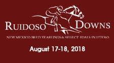 Flipping book highlights of Ruidoso NM Bred Sale from July issue