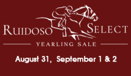Flipping book highlights of Ruidoso Select Yearling Sale from August issue