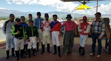 Albuquerque Downs' Jockeys Visit Children's Hospital