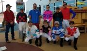 Albuquerque Downs' Jockeys Visit UNM Children's Hospital