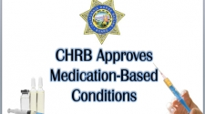 CHRB Approves Medication-Based Conditions
