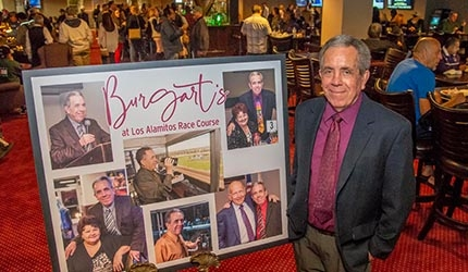 Ed Burgart's Final Weekend as Los Alamitos Track Announcer