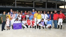 500th Win for Jockey Francisco Calderon