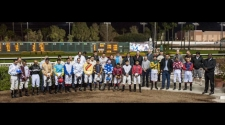 Los Alamitos Observes Moment of Silence In Memory of Jockey Cesar Gomez