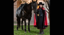 "Ruidoso Downs Welcomes ""Masked Rider"""