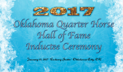 2017 Oklahoma Quarter Horse Hall of Fame Inductees