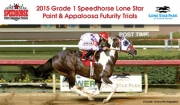 2015 Grade 1 Speedhorse Lone Star Paint & Appaloosa Futurity Trials